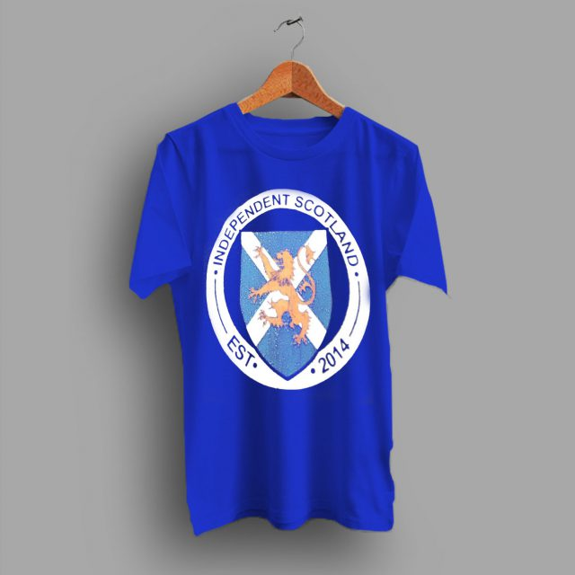 Independendent Scotlandia Energy In The UK T Shirt
