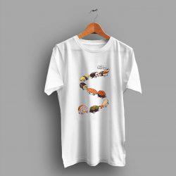 Japanese Foodie Sushi Train Cute T Shirt