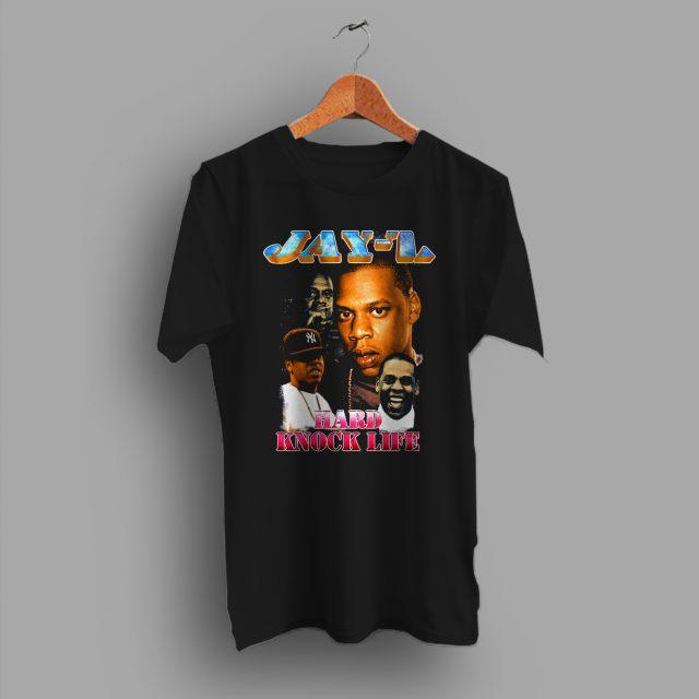 Jay Z Hard Knock Life Hip Hop T Shirt Rapper Tee