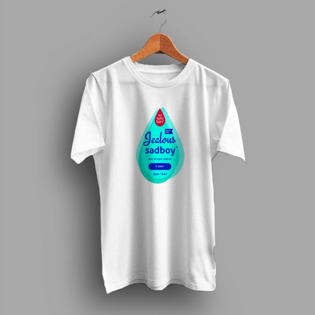 Jealous Sadboy Johnson Baby Oil Parody T Shirt