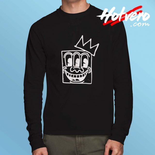 Jean Michel Basquiat Crown Long Sleeve Shirt