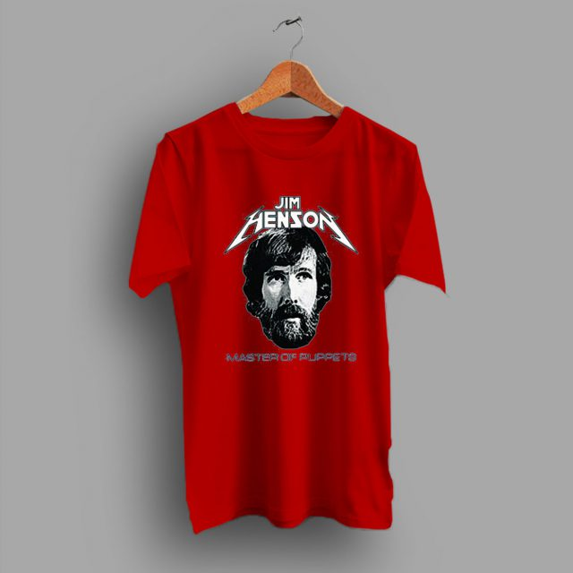 Jim Henson On Master Of Puppets T Shirt