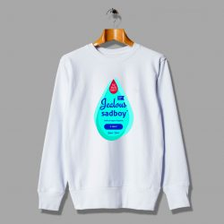 Johnson Baby Oil Jealous Sadboy Unisex Sweatshirt