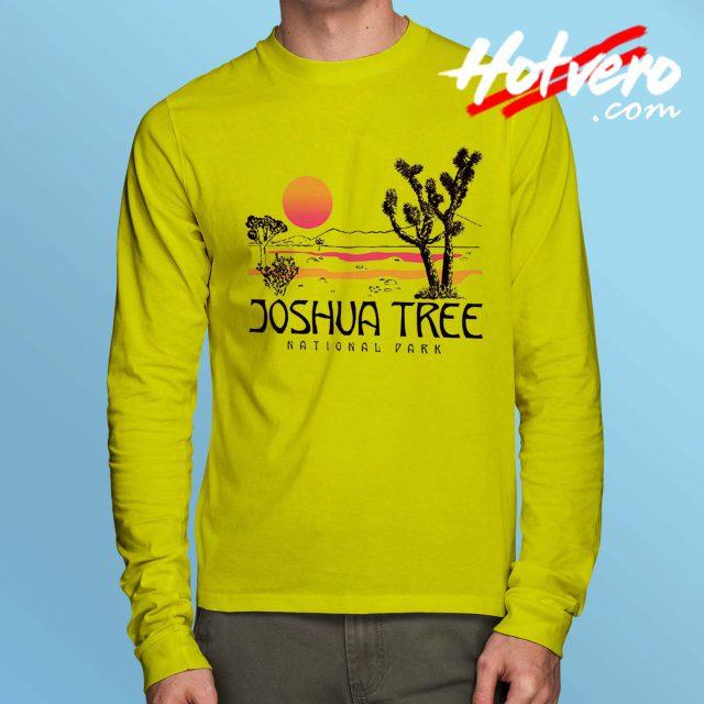 Joshua Tree National Park Long Sleeve T Shirt