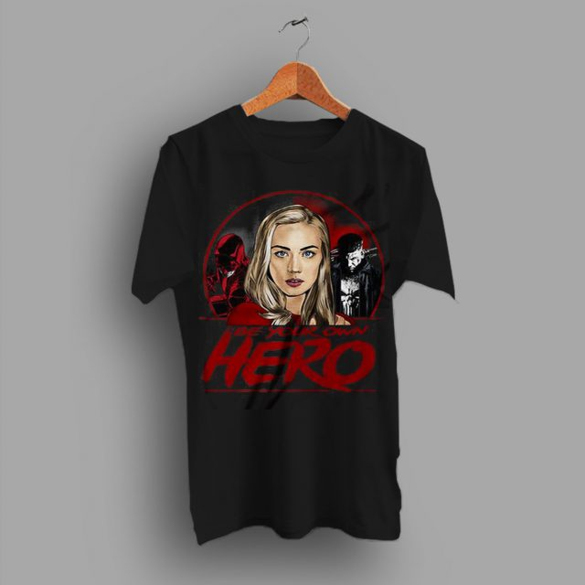 Just Share Be Your Own Hero Save Dare Devil T Shirt