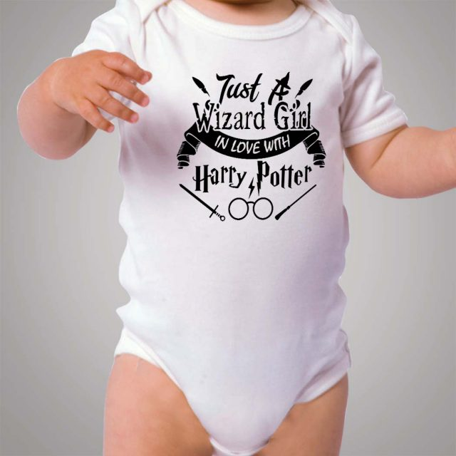 Just Wizard Girl Love Harry Potter Baby Onesie Bodysuit