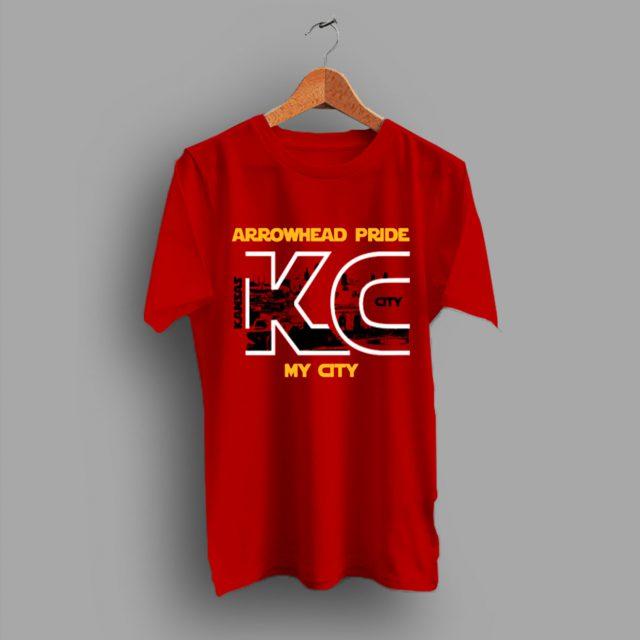 Kansas City go Chiefs Arrowhead Pride T Shirt