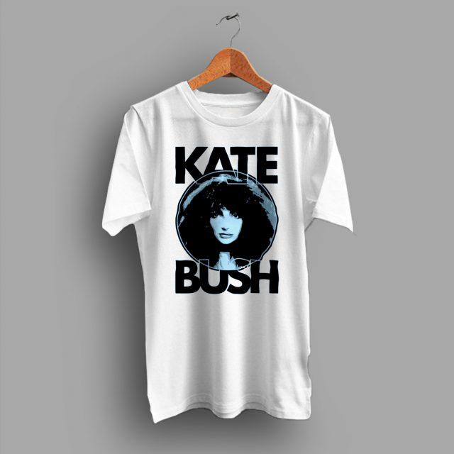 Kate Bush Face English Art Vintage Graphic T Shirt