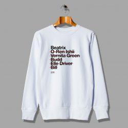 Kill Bill Beatrix O Ren Ishii Vintage Movie Sweatshirt