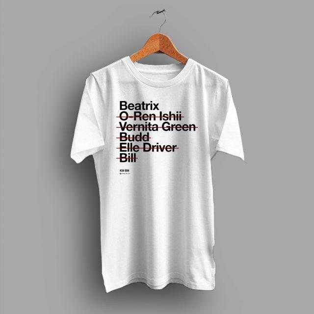 Kill Bill Beatrix O Ren Ishii Vintage Movie T Shirt