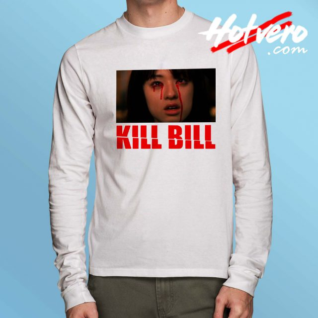 Kill Bill Gogo Yubari Quentin Tarantino Long Sleeve T Shirt