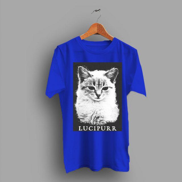 Kitten Cat Lucipurr Racerback Cute T Shirt