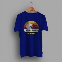 Laguna Beach Retro Sunset Summer T Shirt