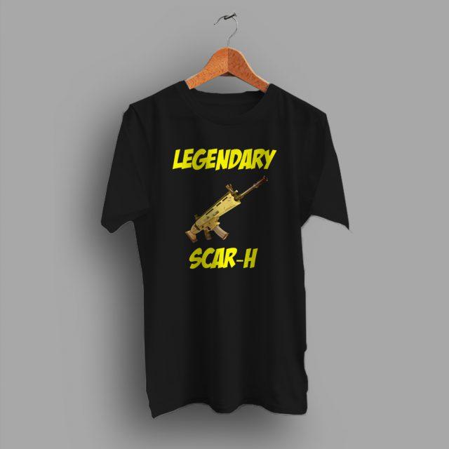 Legendary Scar H Fortnite Game T Shirt