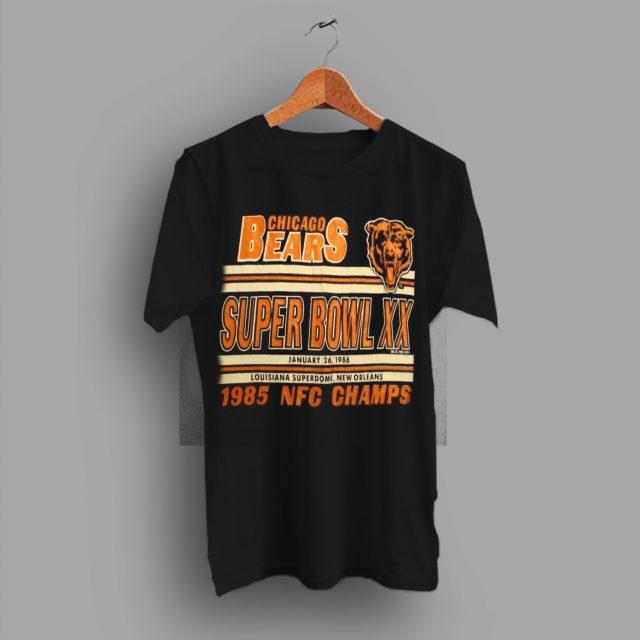 Lets Go Bears Vintage NFL Chicago Bears 1986 T Shirt