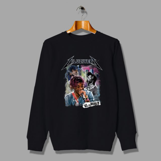 Lil Uzi Vert Vs The World Rap Battle Sweatshirt