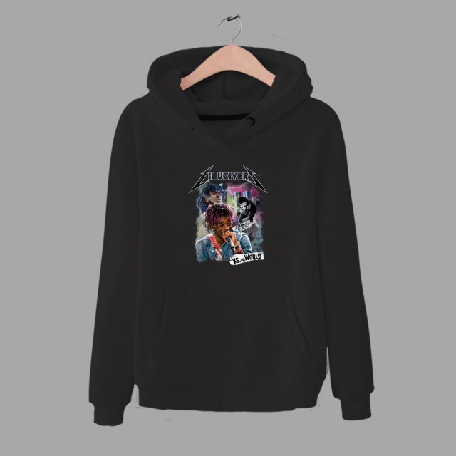 Lil Uzi Vert Vs The World Rap Battle Unisex Hoodie