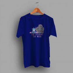 Lilo Stitch Dragon Stay Weird Funny T Shirt Design
