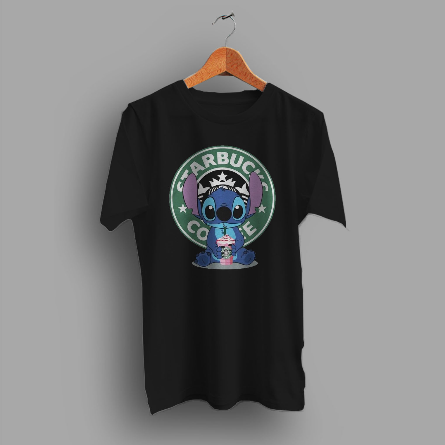 520a0bc75 Lilo Stitch Starbucks Coffee Funny T Shirt Inspired - Hotvero