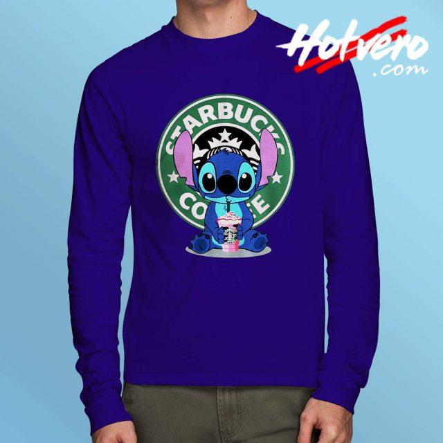 Lilo Stitch Starbucks Long Sleeve T Shirt