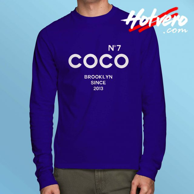 Long Sleeve T Shirt Brooklyn Glen Coco