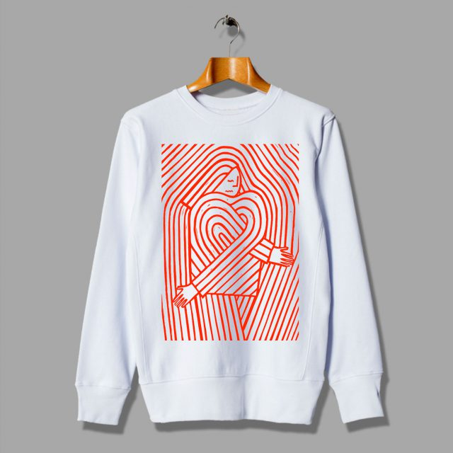 Love And Desire Gift For Valentine Consented Sweatshirt
