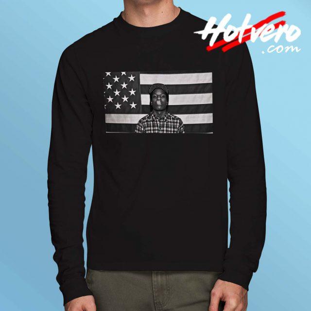 Love Live Asap Rocky Hip Hop Long Sleeve Shirt