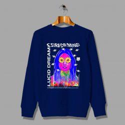 Lucid Dream Core Of Mind Sweatshirt Hip Hop Fashion