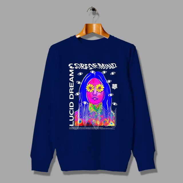 Lucid Dream Core Of Mind Sweatshirt Hip Hop Fashion