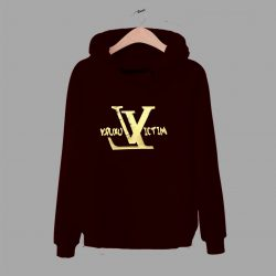 Luxury Victim LV Inspired Gold Money Unisex Hoodie