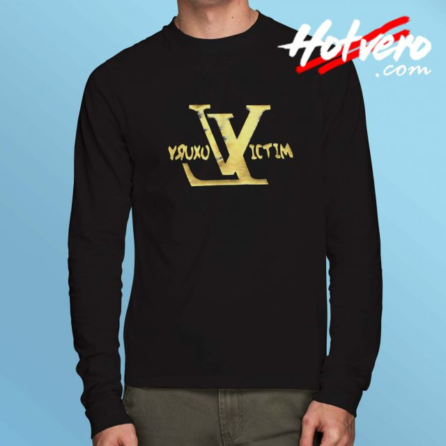 Luxury Victim Rapper Long Sleeve T Shirt