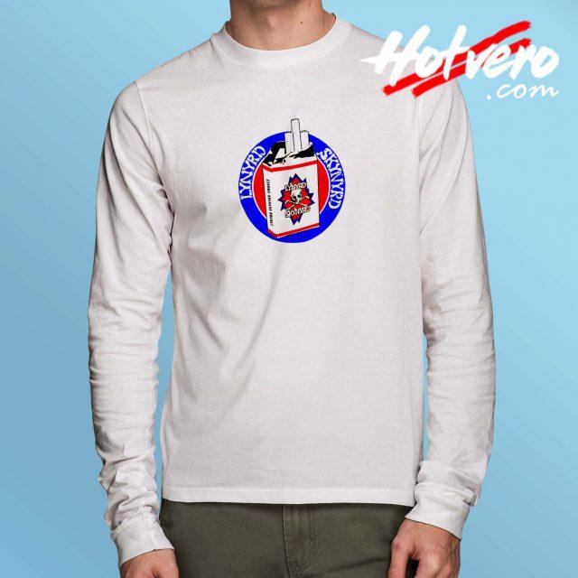 Lynyrd Skynyrd Cigarette Vintage Long Sleeve Shirt