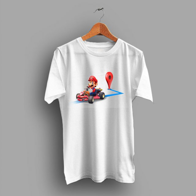 Maps Day Super Game Mario Kart To Your Navigation T Shirt