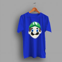 Mario Broos In Luigi Gaming Retro T Shirt