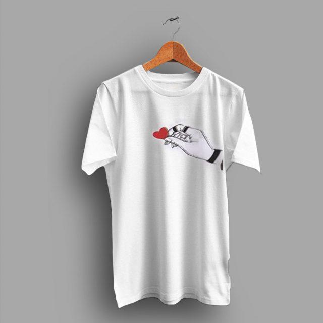 Minimalist Cute Little Heart For Gift Valentine T Shirt
