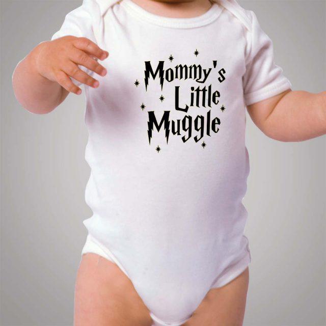 Mommy Little Muggle Baby Onesie Bodysuit
