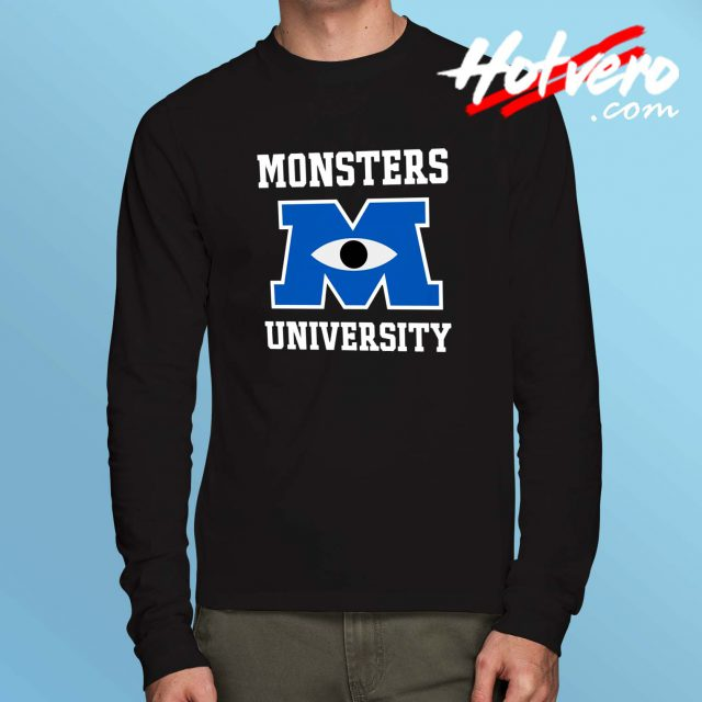 Monster Inc University Long Sleeve T Shirt