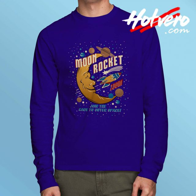 Moon Rocket Zoom Long Sleeve Shirt