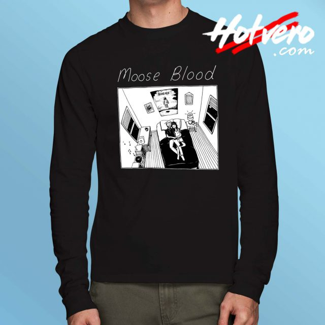 Moose Blood Vintage Long Sleeve T Shirt