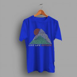 Mountain Kids Outdoor Live Life Outside T Shirt