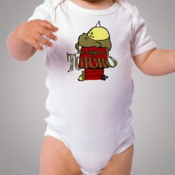 My Neighbor Totoro Snoopy Style Baby Onesie