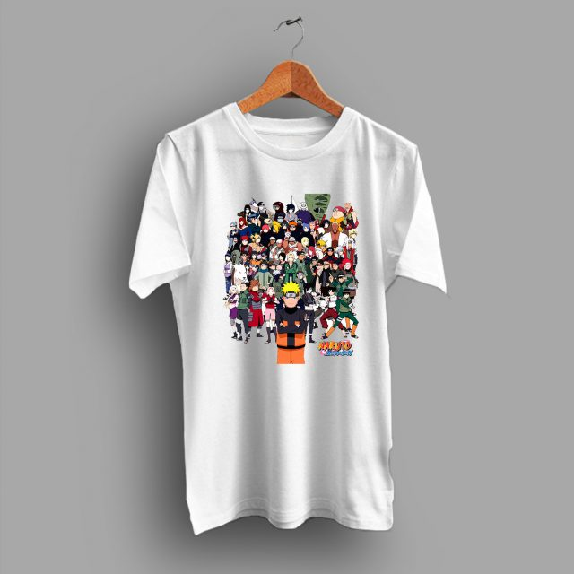 Naruto Gang All Characters Anime T Shirt