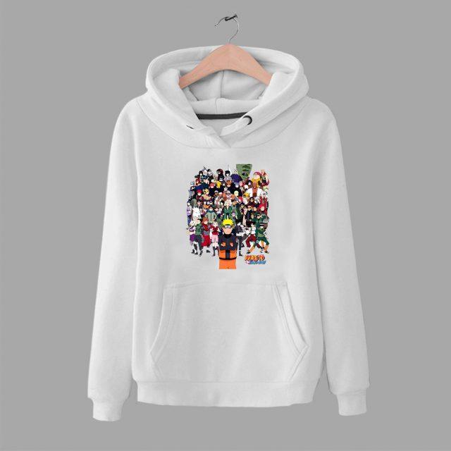 Naruto Gang Japanese Anime Unisex Hoodie