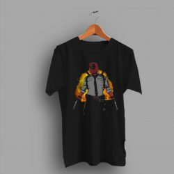 Nerd Geek Deadpool Gaming Pubg T Shirt