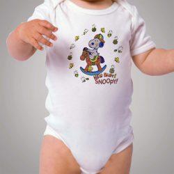 New Baby Snoopy Baby Onesie Bodysuit
