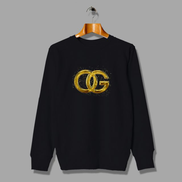 OG Original Gangster Rapper Hip Hop Sweatshirt