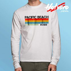 Pacific Beach City Postal Code 92109 Long Sleeve Shirt