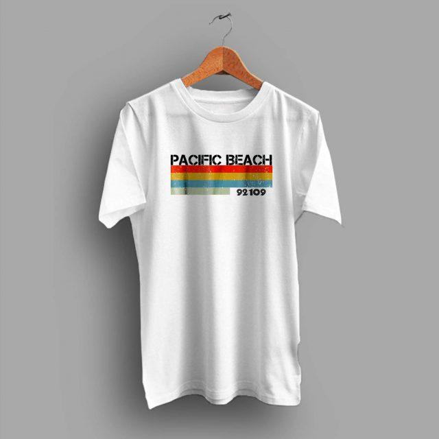 Pacific Beach City Postal Code 92109 Summer T Shirt