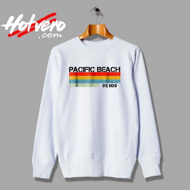 Pacific Beach City Postal Code 92109 Sweatshirt