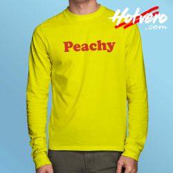 Peachy Classic Record Long Sleeve Shirt